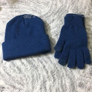 Goodfellow Men's Knit Cuff Hat & Gloves.